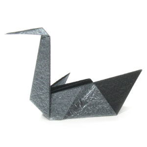 Image result for origami swan