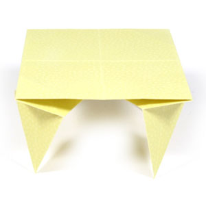 traditional origami table