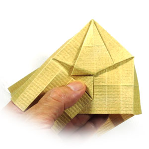 How to make a 3d origami temple page 13 for How to make paper temple