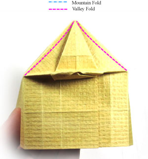 How to make a 3d origami temple page 17 for How to make paper temple