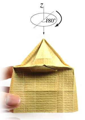 How to make a 3d origami temple page 18 for How to make paper temple