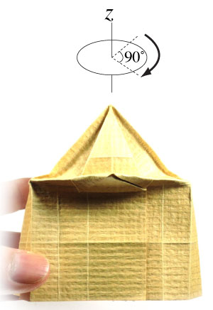 How to make a 3d origami temple page 19 for How to make paper temple