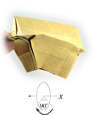 How to make a 3d origami temple page 28 for How to make paper temple
