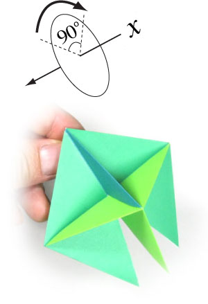 How To Make A Traditional Origami Top Page 12