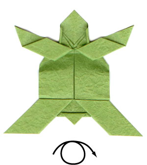 Learn how to make origami easily: The sea Turtle - YouTube | 337x300