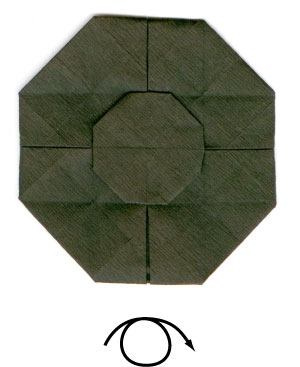 Origami UFO