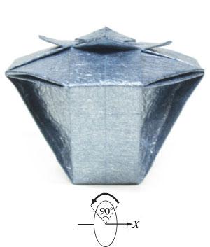 3d Origami Vases | 353x300