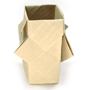 How To Make A Rectangular Origami Vase Page 1