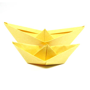 traditional paper boat