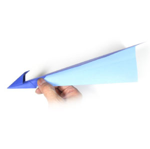 traditional paper jetplane