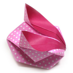 Traditional Origami Balloon Rabbit 02 Tutorial - YouTube | 300x300