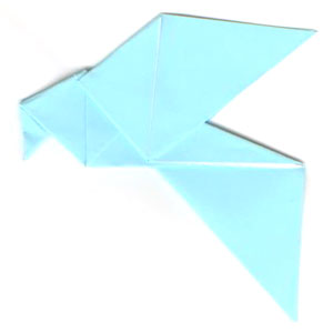 Origami Dove Pattern - Origami For Kids: