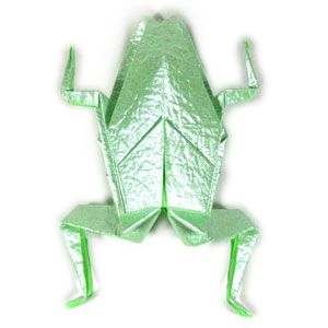 How To Make A Traditional Origami Frog Page 1