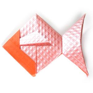 Origami goldfish 27