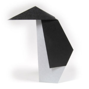 How To Make A Traditional Origami Penguin Page 1