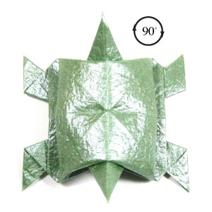 How to Make an Origami Turtle | 300x300